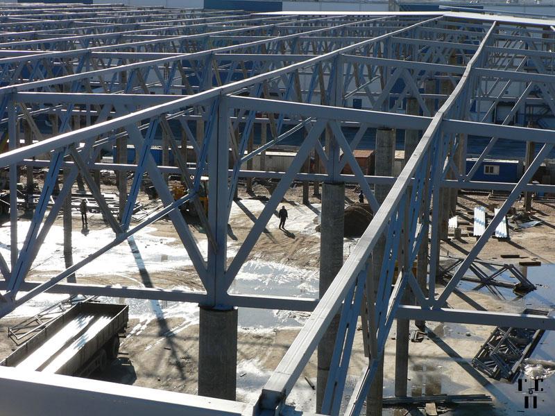Пример ппр на демонтаж металлоконструкций